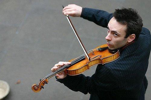نوازنده ویولن