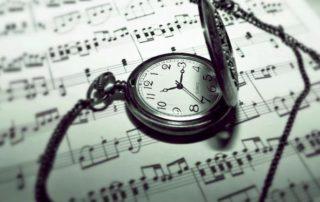 ساعت و نتهای موسیقی