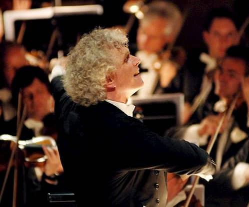 سر سیمون رتل، رهبر ارکستر سمفونیک لندن