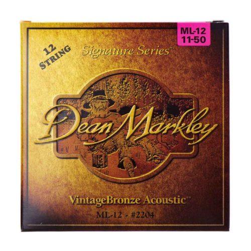 سیم گیتار Dean Markley مدل ML12 11-50