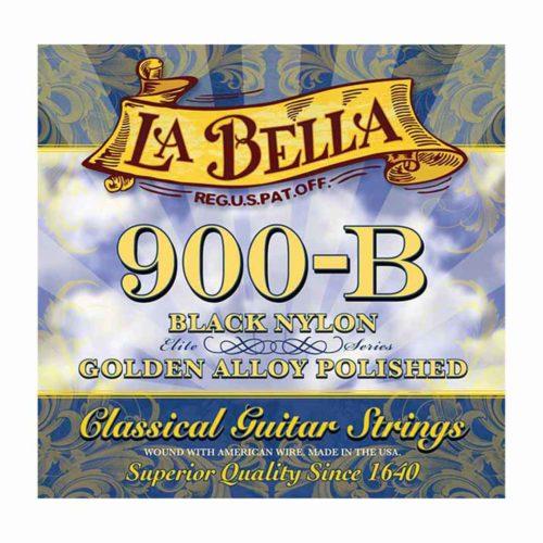 سیم گیتار La Bella مدل Black Nylon 900-B