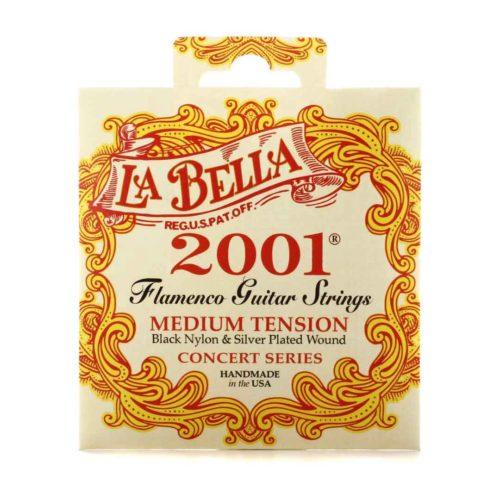 سیم گیتار La Bella مدل Flamenco 2001