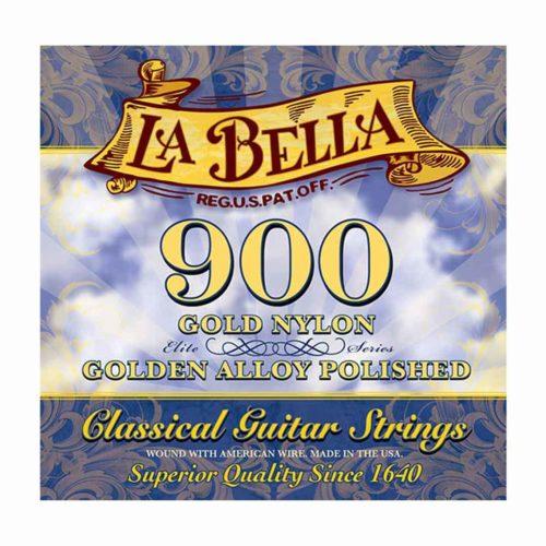 سیم گیتار La Bella مدل Gold Nylon 900