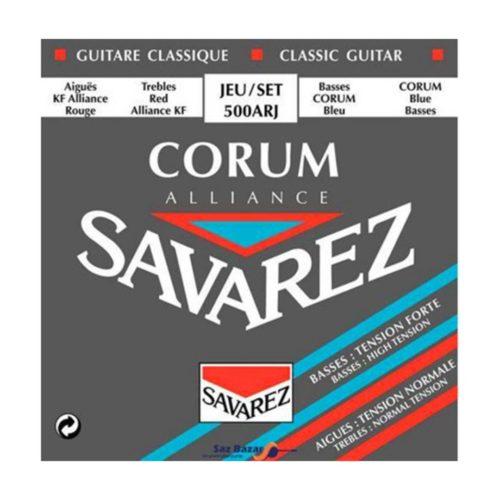 سیم گیتار Savarez مدل Corum 500 ARJ