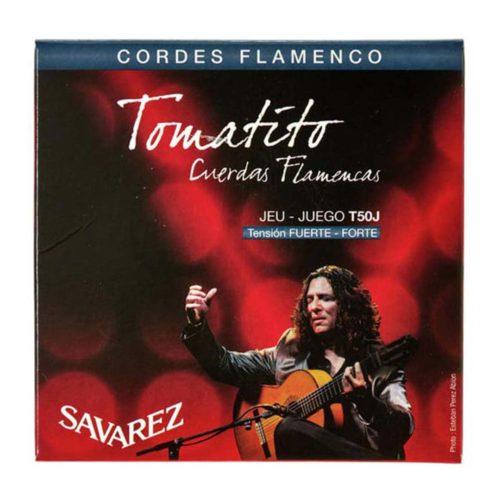سیم گیتار Savarez مدل Tomatito JEU - JUEGO T50J