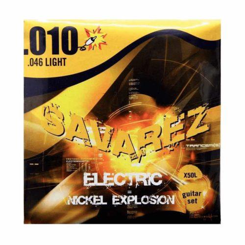 سیم گیتار Savarez مدل X50L 10-46