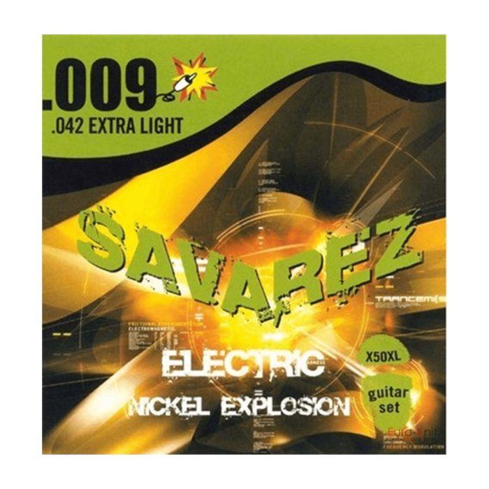 سیم گیتار Savarez مدل X50XL 9-42