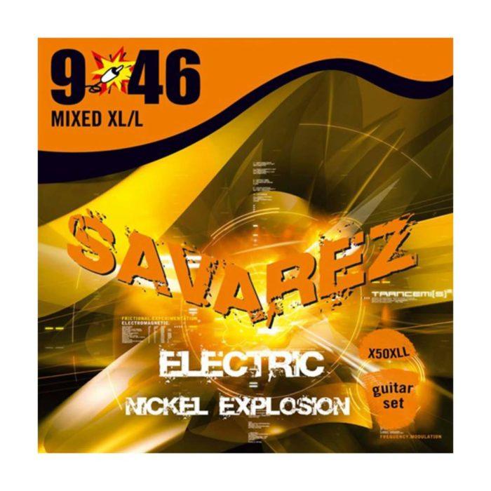 سیم گیتار Savarez مدل X50XLL 9-46