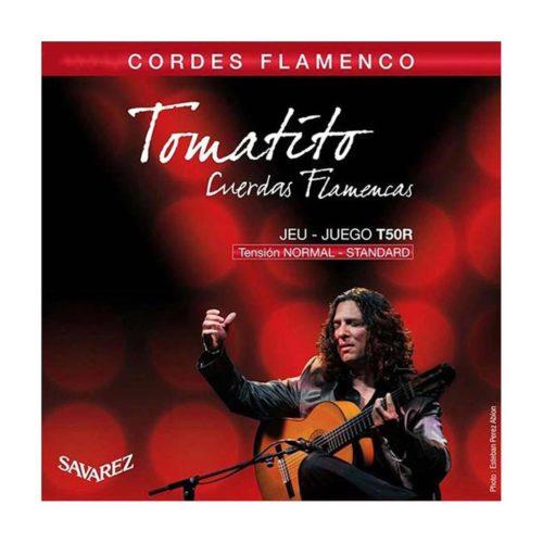 سیم گیتار Savarez مدل Tomatito JEU - JUEGO T50R
