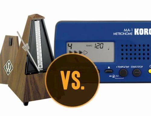 کدام نوع مترونوم را استفاده کنیم؟ آشنایی با انواع مترونوم