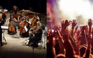 موسیقی کلاسیک و پاپ