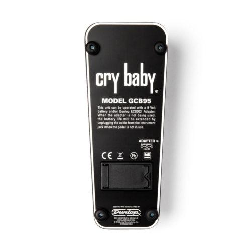 پدال گیتار Dunlop مدل GCB95 Cry Baby Original Wah