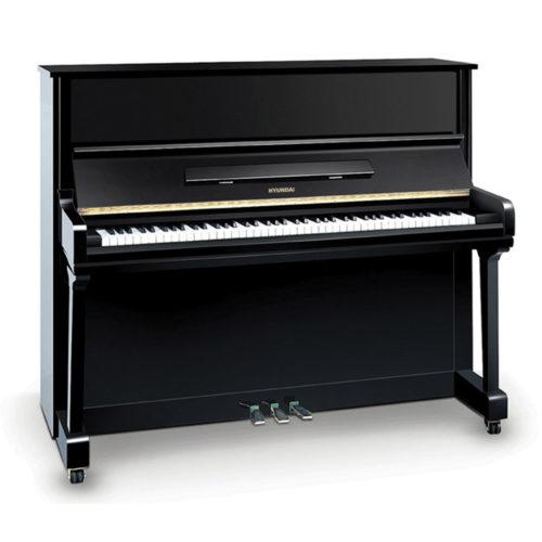 پیانو آکوستیک دیواری Hyundai مدل H121N