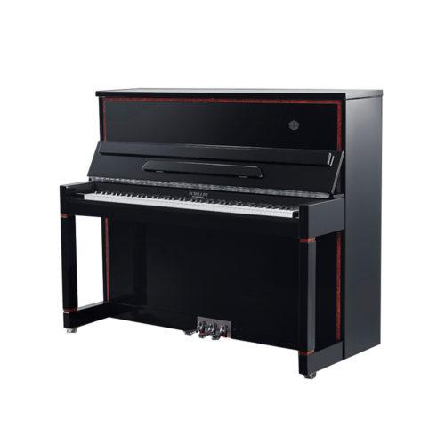 پیانو آکوستیک دیواری Schiller مدل S121B