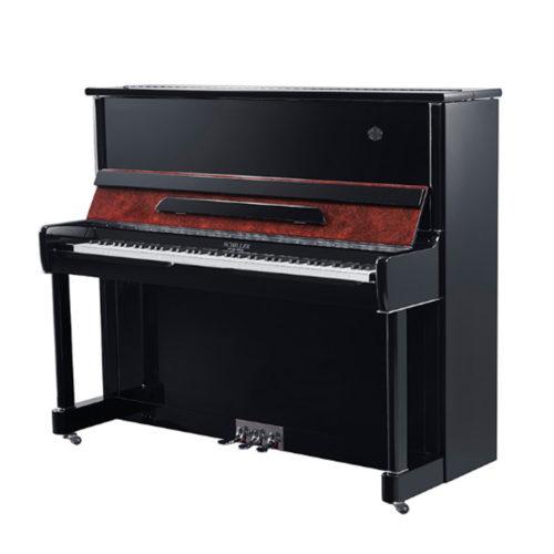 پیانو آکوستیک دیواری Schiller مدل S125A