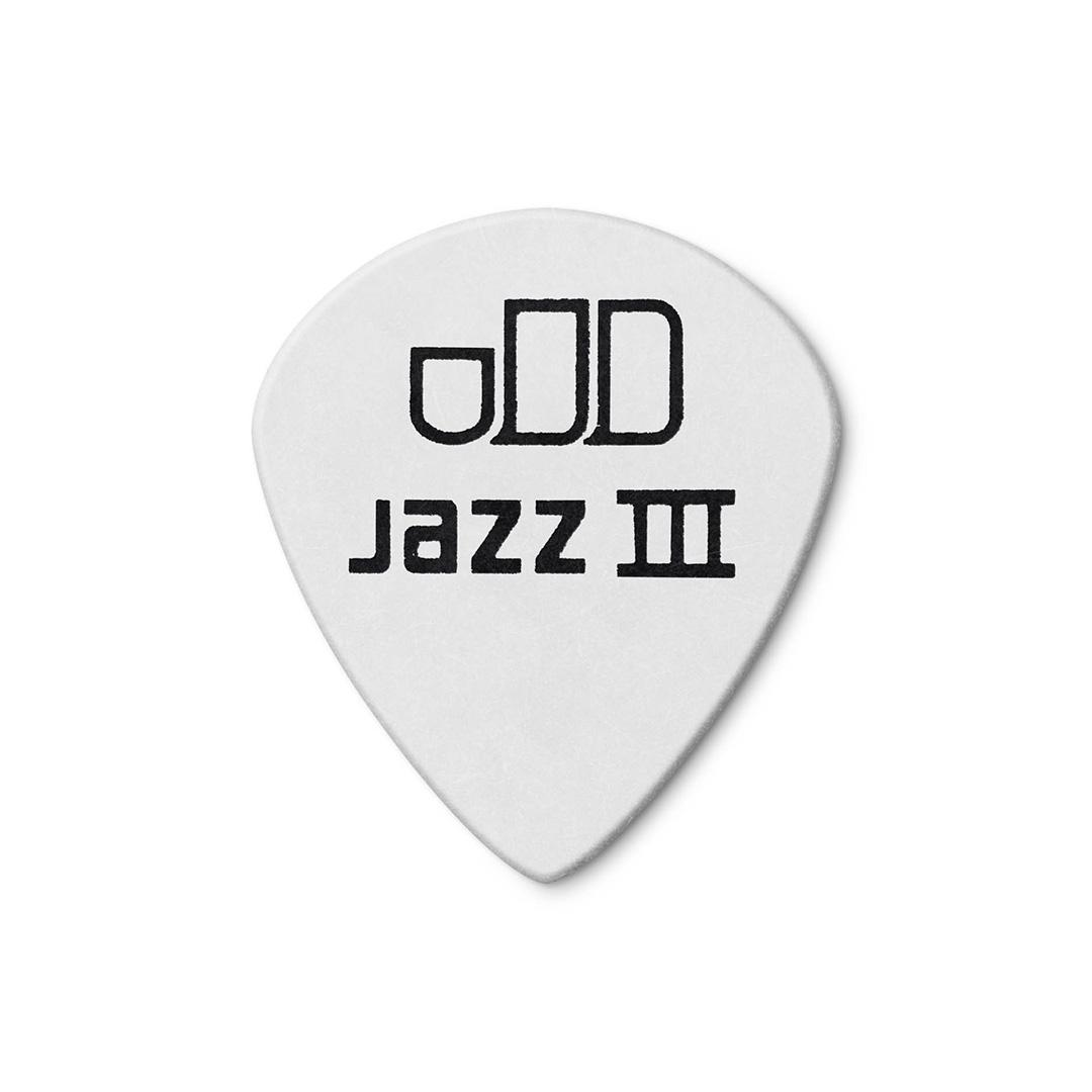 پیک گیتار Dunlop مدل Tortex White Jazz III 478R