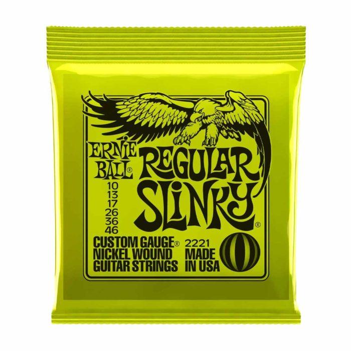 سیم گیتار Ernie Ball مدل 2221 Regular Slinky