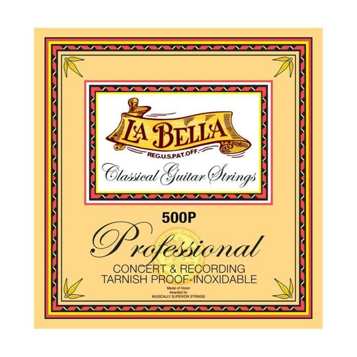 سیم گیتار La Bella مدل 500P Professional Concert and Recording