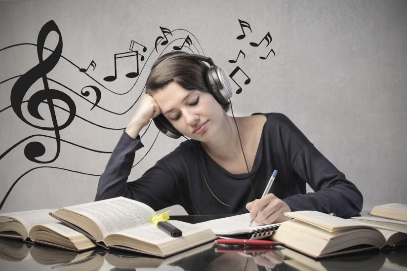 موسیقی و مطالعه