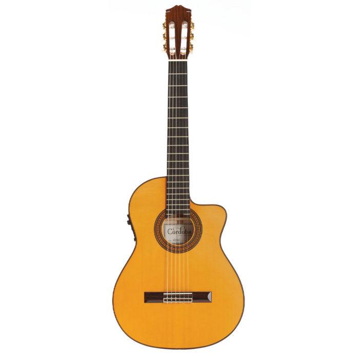 گیتار آکوستیک Cordoba مدل 55FCE-Honey Amber