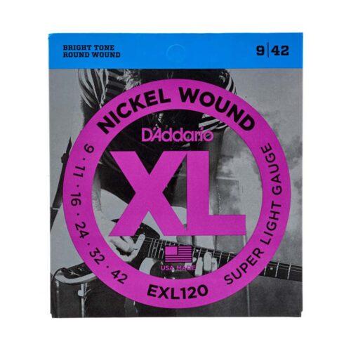 سیم گیتار Daddario مدل EXL120