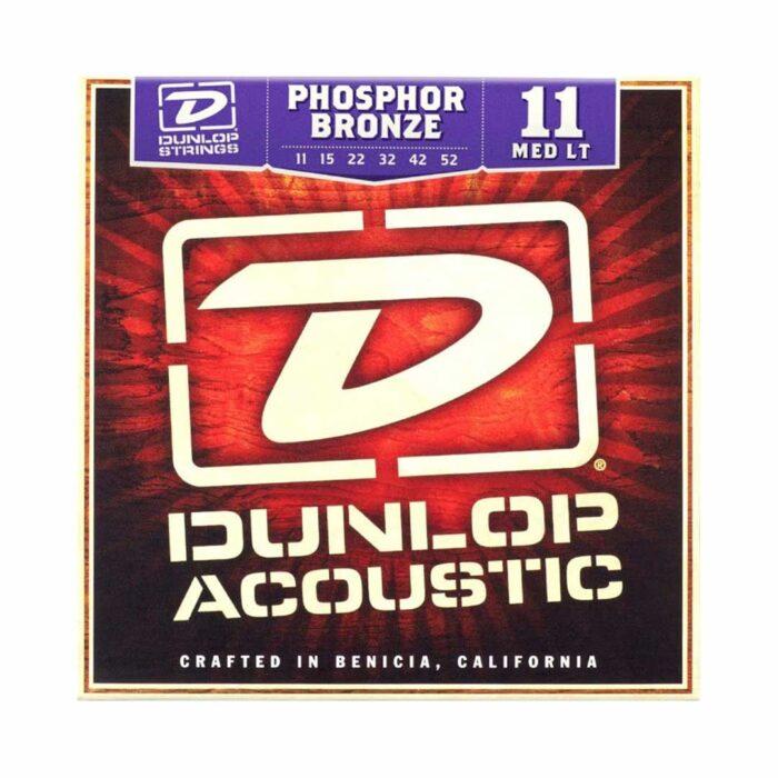 سیم گیتار Dunlop مدل Bronze MED LT11-52