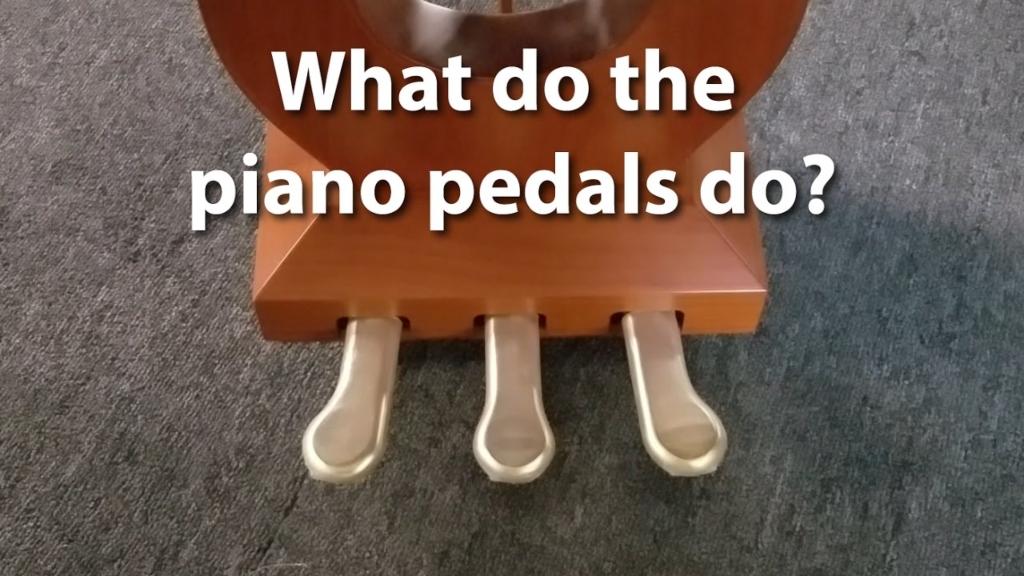 عملکرد پدال در پیانو