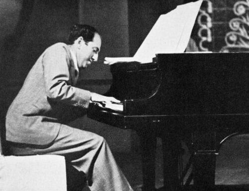 جرج گرشوین، پیانیست مشهور آمریکایی