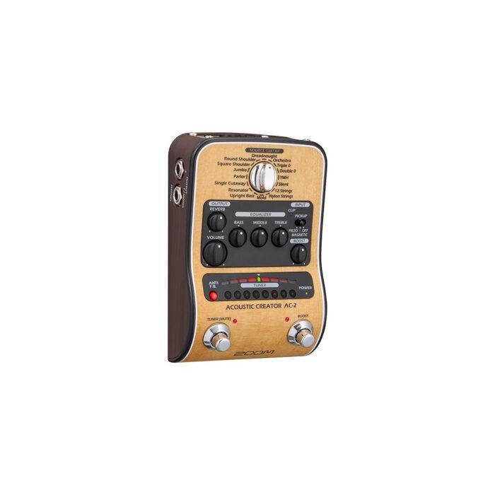 افکت گیتار آکوستیک Zoom مدل AC2