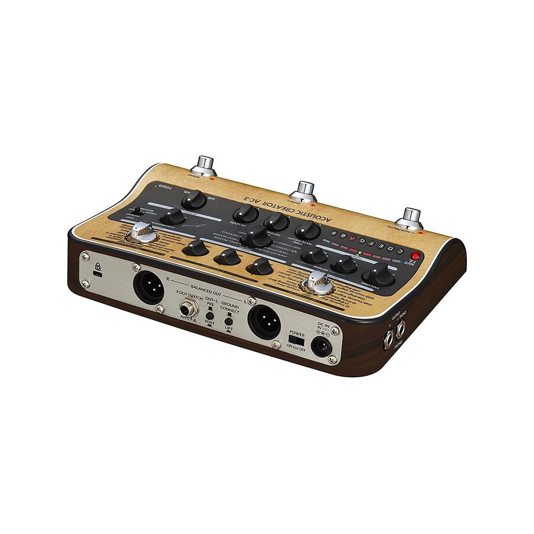 افکت گیتار آکوستیک Zoom مدل AC3