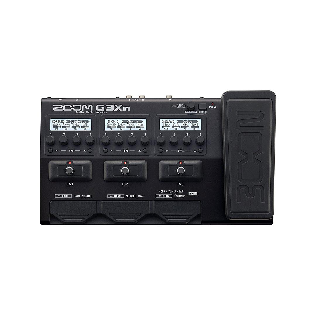 افکت گیتار الکتریک Zoom مدل G3xn