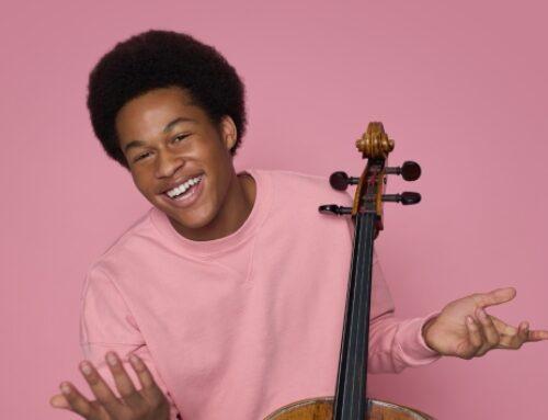 شکو کانه میسون، نوازنده جوان ویولنسل
