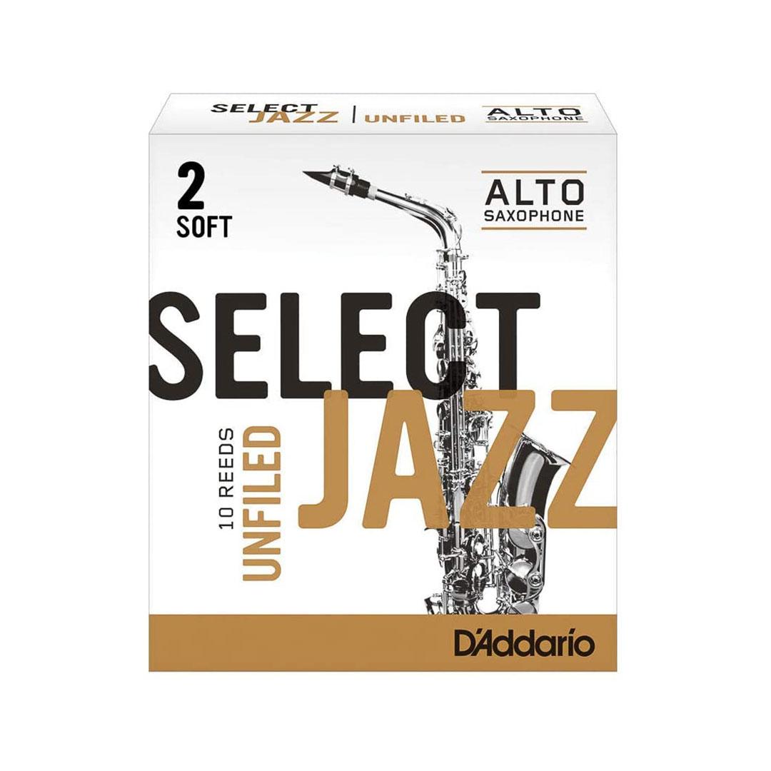 قمیش ساکسیفون آلتو Daddario مدل Select Jazz RRS10ASX2S