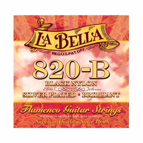 سیم گیتار La Bella مدل Black Nylon 820