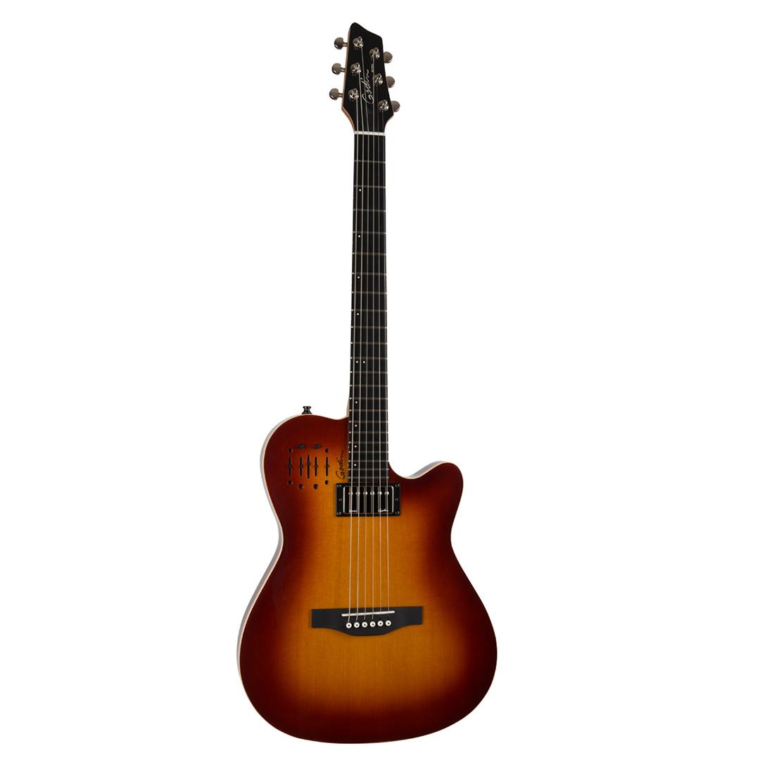 گیتار الکتریک Godin مدل A6 Ultra Cognac Burst HG