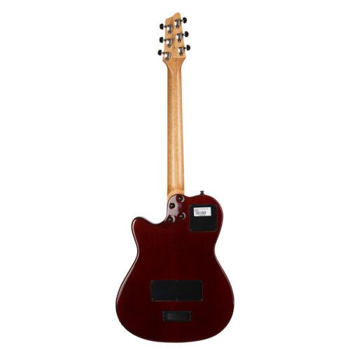 گیتار الکتریک Godin مدل A6 Ultra Cognac Burst HG (3)