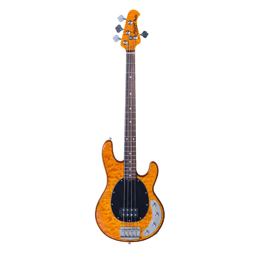 گیتار باس Sterling By Music Man مدل RAY34 QM AM R