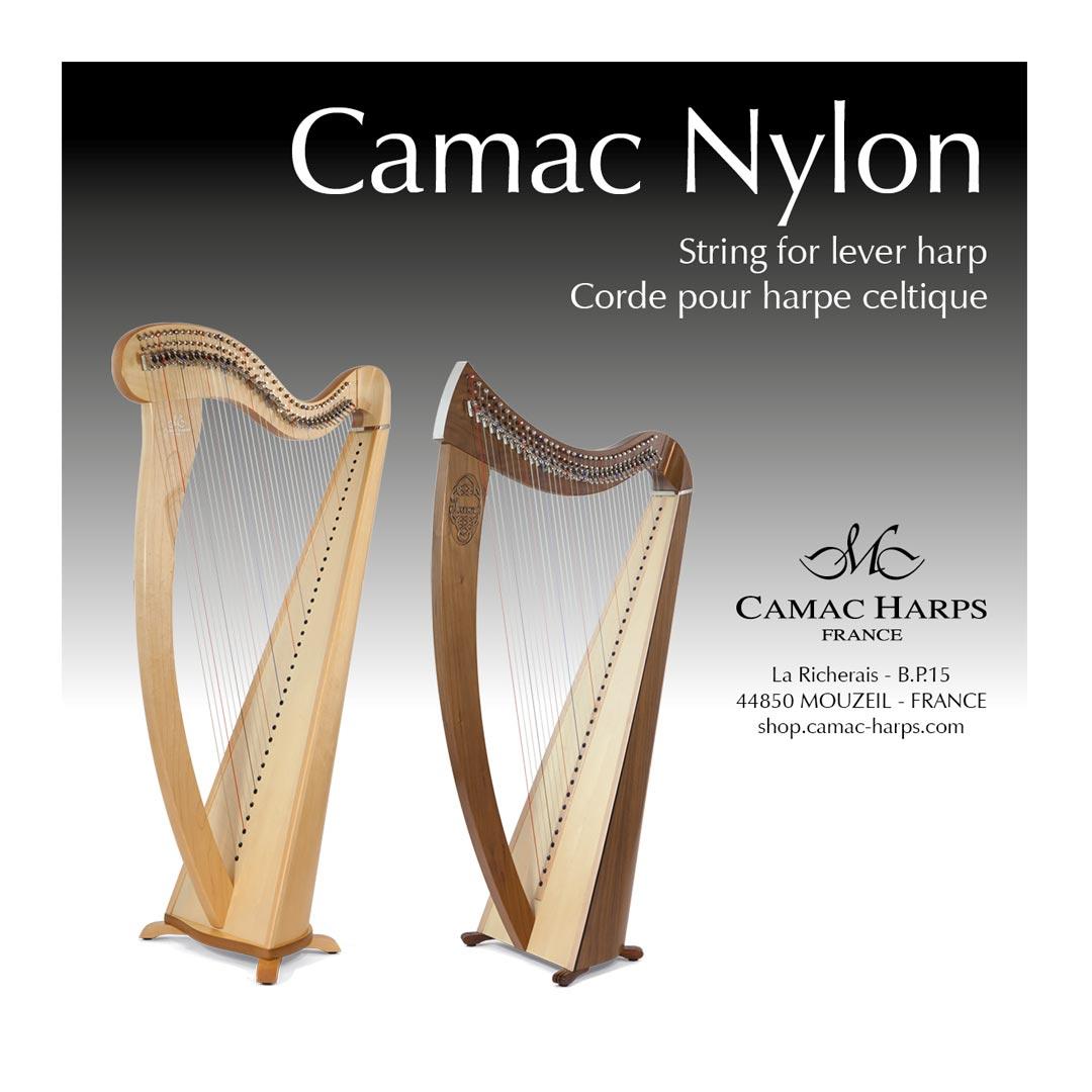سیم چنگ Camac مدل Harp Celtic Nylon G16