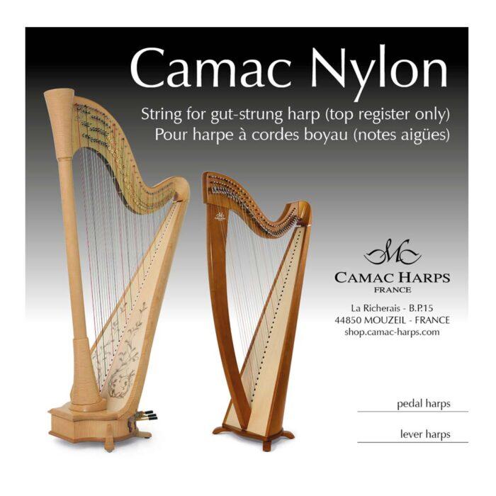 سیم چنگ Camac مدل Harp Pedal Nylon G06