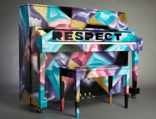 اهدا و حراج پیانو از طرف کمپانی Steinway و فیلم Respect