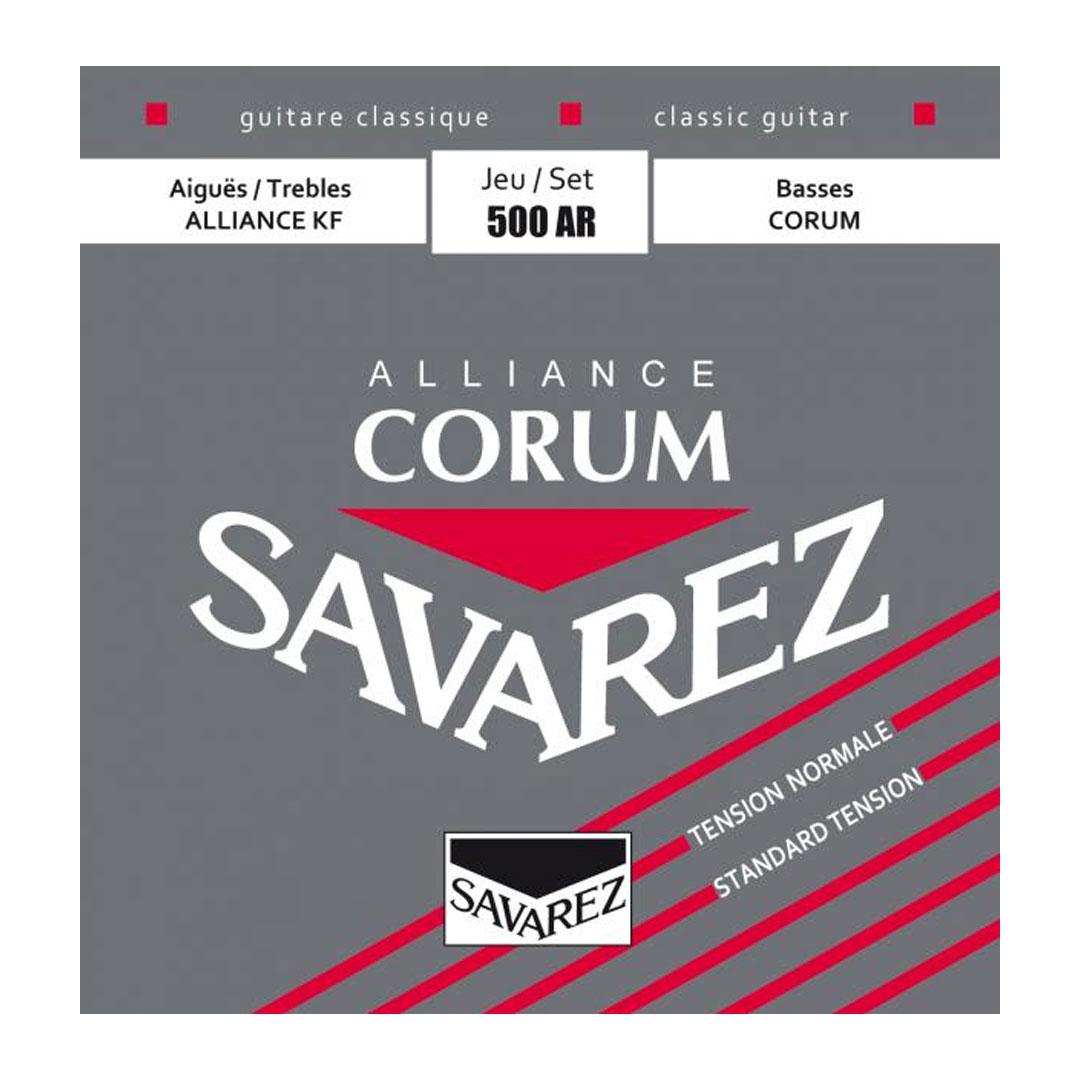 سیم گیتار Savarez مدل Corum 500 AR